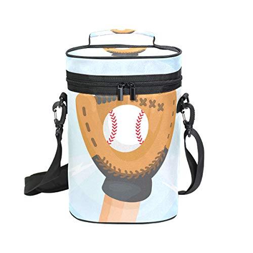 LUPINZ Baseball-Handschuhe, Weinbeutel, Weintasche -