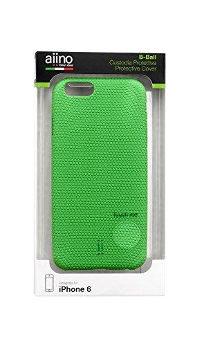 Aiino B-Ball Schutzhülle Handyhülle Schale Cover für Smartphone Apple iPhone 6 - Basket Grün Grün