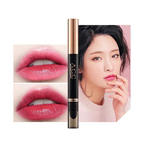 Lippenstift Matt, Kltipeng 1 pcs Lipstick Schönheit Lippe Gloss Long Lasting Moisturizing Lippenstift Lip Gloss Fashionable Colors Matte Liquid Lipstick(B)
