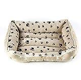 CHENYAJUAN Hundebetten Matte Pet Betten Für Kleine Und Mittlere Große Hunde Katzen Welpen Bett Kennel Pet-Produkte Sofa Haus, M