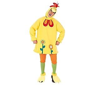 Creaciones Llopis - Disfraz de galliloco para adulto de 7/9 años, talla única