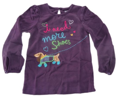 baby-gap-sleeved-shirt-purple-i-need-more-shoes-colourful-embroidered-size-104-110-us-size-5