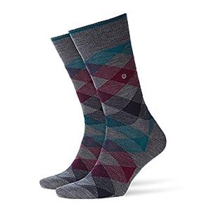 BURLINGTON Herren Socken Newcastle – Schurwollmischung, 1 Paar