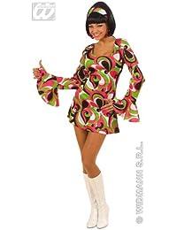 Widmann 70er Jahre Minikleid Hippie