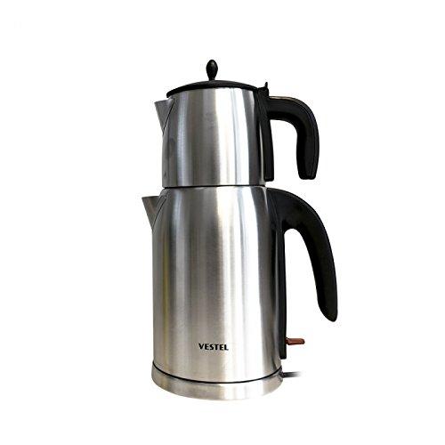 Vestel Teekocher Tee Maschine 20242148 Mit 2200W und 2,8L Kocher - Vestel Çay Makinesi - 2