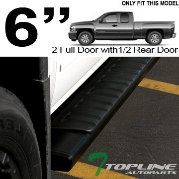 topline-autopart-6-oe-factory-style-aluminum-black-side-step-assist-rail-running-boards-07-16-chevy-