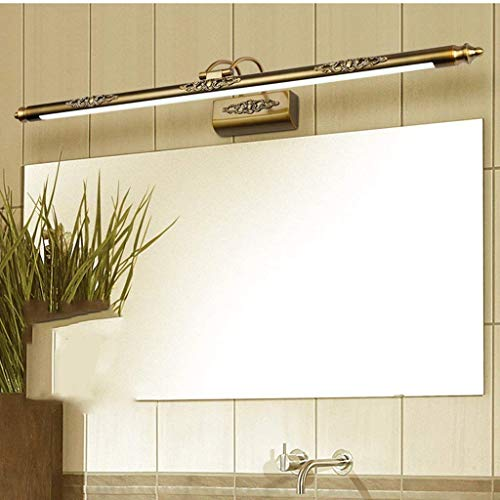 Rost Bad (GSZHY Wandleuchte Retro Wasserdichte LED Bad Roomanti-Rost Mirrormirrormirrorprojector Hat +,12w iWhite 70cm)