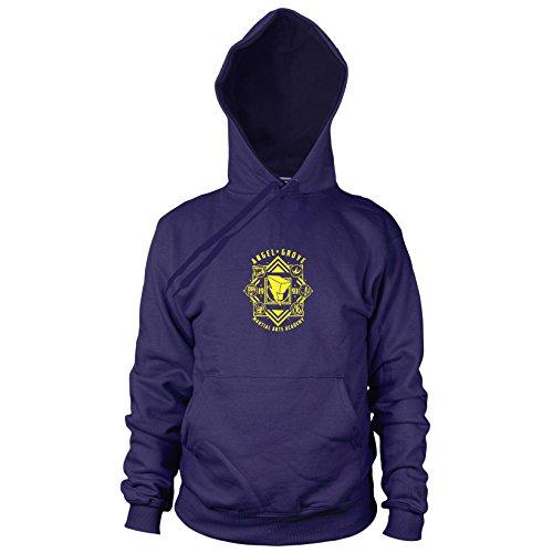 Planet Nerd Angel Grove Academy - Herren Hooded Sweater, Größe: XXL, ()