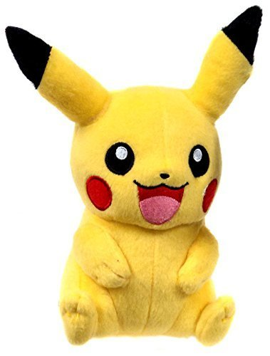 TOMY USA Pokemon X & Y Pikachu Sitting Two Hands Down 9 Plush (T18587) by TOMY