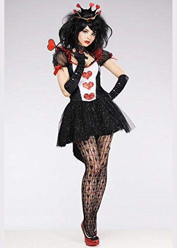 r Königin der Herzen Kostüm S (UK 8-10) (Königin Der Herzen Kostüm Kostüme Uk)