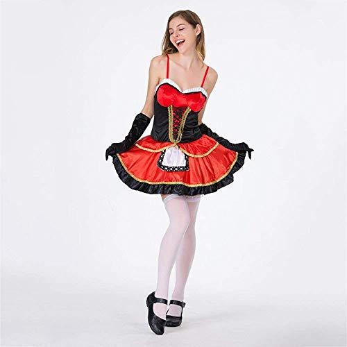 Weiblichen Kostüm Für Sexy Erwachsenen - PIN Halloween kostüme frauen halloween kostüm weibliche erwachsene sexy little red hat spielen kostüm maskerade cosplay prinzessin kostüm,XL