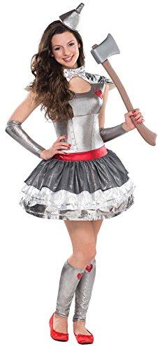 Zauberer von Oz Blechfrau Tin Hearthrob Kostüm Kinder 12-14 - Der Zauberer Von Oz Blechmann Kostüm