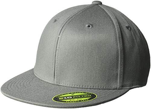 Ouray Sportswear Unisex-Erwachsene Flexfit 210 Cap Hut, grau, ()