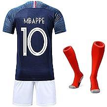 Garçon Ensemble de Vêtements de Sport T-Shirt et Short Coupe du Monde France  2 66407268c2bcd