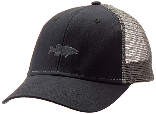 bc0831dcfbf99 Ouray Sportswear Unisex Industrial Canvas Mesh Cap, Black/Grey/Black,  Adjustable