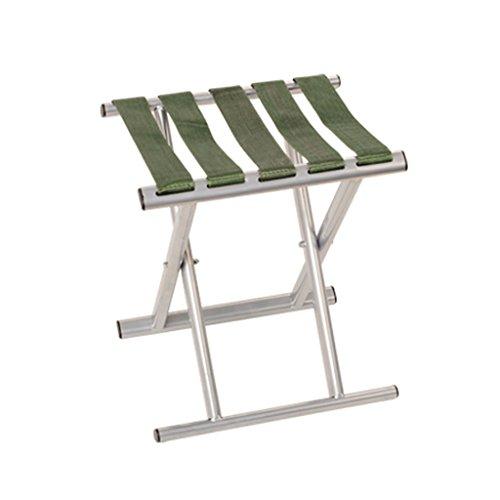 Klappstuhl KKY-Enter Faltbarer Schemel zusammenklappbarer tragbarer im Freien kampierender Picknick-Fischen-Stuhl-Starkes tragendes langlebiges Gut (größe : L29.5*W25.5*H33cm)