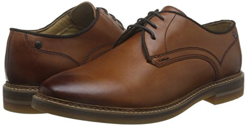 Base London Mens Blake Leather Shoes Tan