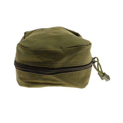 Gazechimp Taktische Zubehörtasche, Praktische Mini Gürteltasche, Outdoor Rucksack zusätzliche Beutel, Molle Pouch Armeegrün