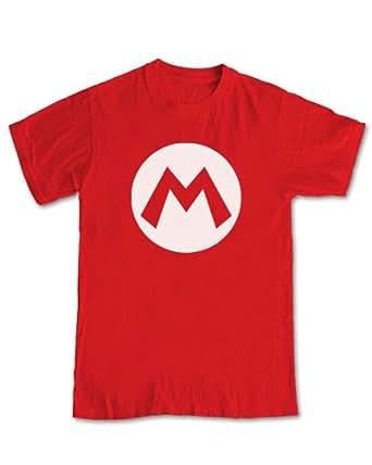 Super Mario Bros! - Mario Costume T-Shirt (Red) - XL