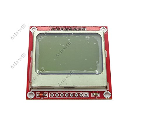 Preisvergleich Produktbild Asiawill® NOKIA 5110 LCD Module PCD8544 Controller Display Board for Arduino by Asiawill