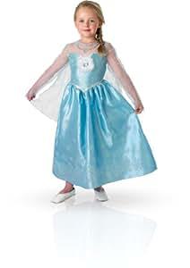 Rubies - 154985S - Costume - Panoplie Luxe - Elsa Reine des Neiges, S (3- 4 ans)