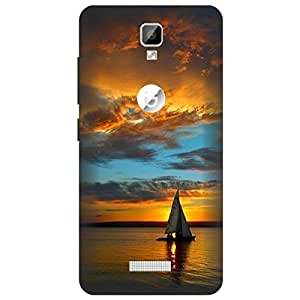 Mobile Cover Lowest Price offer Gionee P7 Printed Back Cover By Ethnic Style