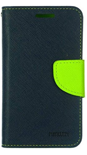 Asus Zenfone 5 A500CG Mercury Flip Wallet Diary Card Case Cover (Blue/Green) By Mobile Life  available at amazon for Rs.189