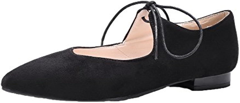 les talons bas givré odomolor dentelle fermé solides chaussures chaussures chaussures chaussures, noir, 42 b07bbmjjqr parent a760ca