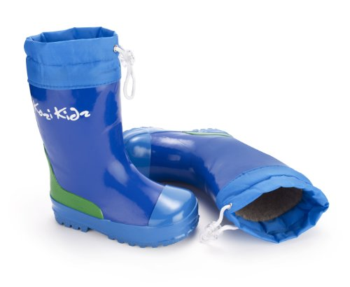 Kozi Kidz Fleece-Lined Puddle Boots Waterproof Wellingtons in Boys and Girls Colours