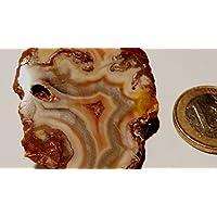 Preisvergleich für Achat, Achatdruse,glänzend poliert, 30,25g, 5x3,5cm, Unikat, sehr schönes Sammlerstück. Auch als Deko.