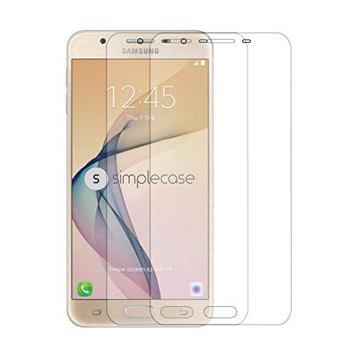 Simplecase Premium Displayschutz Größe: Samsung Galaxy J7 (2017) aus 9H Panzerglas/ Echtglas/ Verbundglas - Twinpack - Transparent - 2 Stück Screen Protection Für Galaxy S3