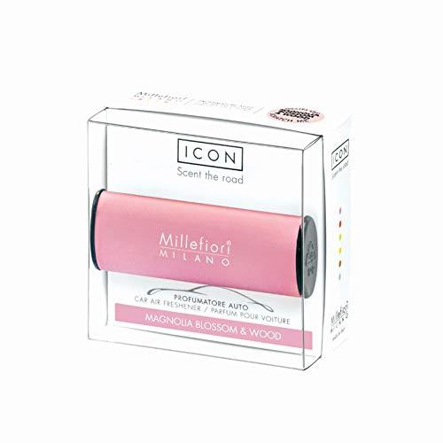 Millefiori Profumo per auto Millefiori ICON colore rosa fragranza Magnolia Blossom & Woo