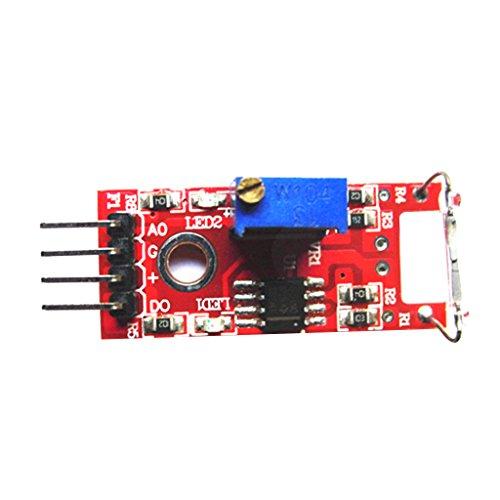 Baoblaze Magnetron Modul Reed Sensor Modul Reed Schalter Magnetschalter für Arduino Digitale Pbx-modul