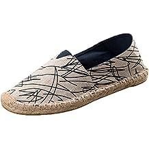 f81959e8540ade Dooxi Hommes Femmes Amoureux Décontractée Plat Loafers Chaussures Mode  Confort Espadrilles