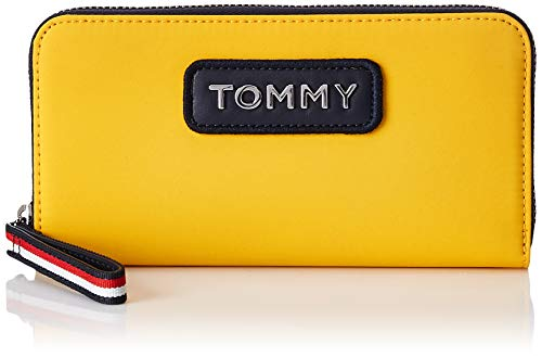 Cartera de mano amarilla de Tommy Hilfiger