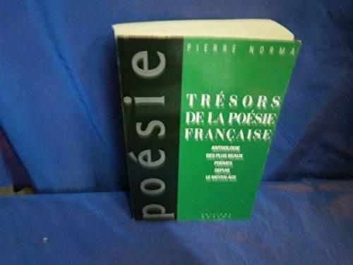 Tresors de la poesie française