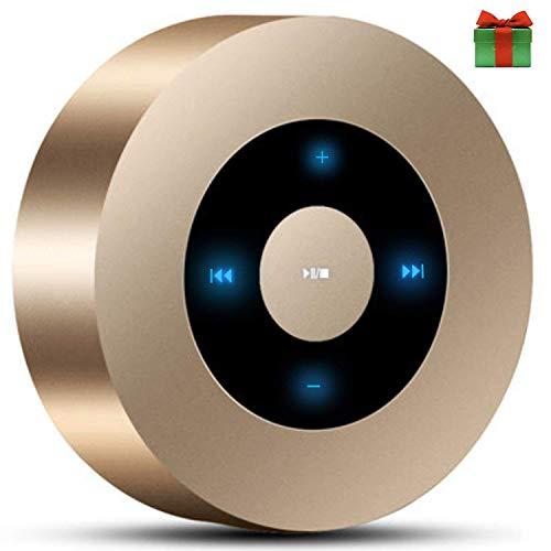 SANRENXING Wireless Bluetooth Lautsprecher,Mini Bluetooth Lautsprecher Leistungsstarker Sound Starkem Sound und 20 Meter Bluetooth Reichweite, FM Radio und Starkem Bass für erstklassigen Klang