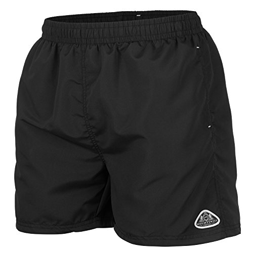 Mount Swiss Herren MS Badeshort, 5013, Black.1, Gr. 3XL