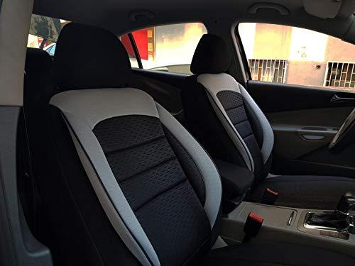 Sitzbezüge k-maniac | Universal schwarz-grau | Autositzbezüge Set Komplett | Autozubehör Innenraum | Auto Zubehör für Frauen und Männer | NO2702641 | Kfz Tuning | Sitzbezug | Sitzschoner