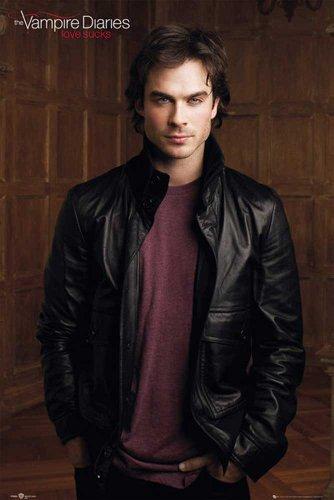 Poster Vampire Diaries Damon, Divers