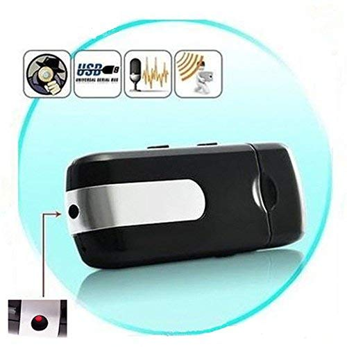 U-Disk Kamera,FLYLINKTECH Spion Versteckte USB Mini DV DVR U8 Disk Kamera Bewegung aktiviert Erkennung Versteckte Usb