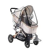 CampHiking Baby Stroller Rain Cover Universal Baby Carriage Rain Cover Baby Carriage Transparent Raincoat Windproof Four Seasons