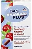 DAS gesunde PLUS Cranberry Kapseln mit Vitamin C, 60 St Nahrungsergänzungsmittel