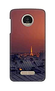 ZAPCASE Printed Back Cover for Motorola Moto Z