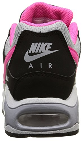 Nike Air Max Command (Gs) Scarpe Sportive, Ragazzo Black/Pink Pow-Wolf Grey-White