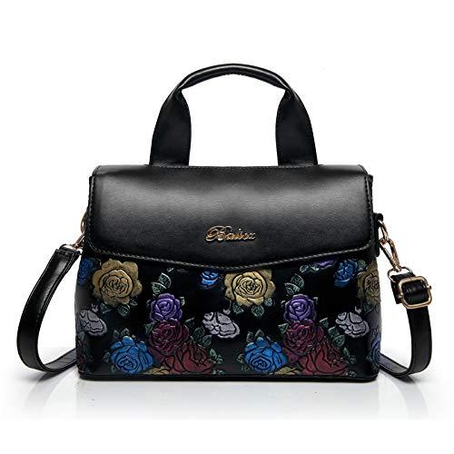 wangkk Mode Handtaschen_2018 Handtaschen Elegante Wilde Umhängetasche Klassische Geprägte Tasche Spot Großhandel, Bla (Großhandel Taschen Canvas Für)