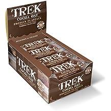 Trek Barritas Proteicas de Cereales sin Gluten y Cacao - 16 Barras