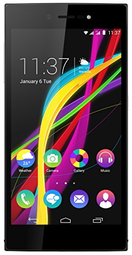 "Wiko Highway Star - Smartphone libre de 5"" (4G, 1.5 GHz, 2 GB de RAM, 16 GB de memoria interna) color plata"
