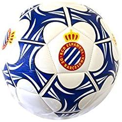 RCD Espanyol Balesp Balón, Azul / Blanco, Talla Única