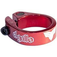 El Gallo Components 14SC-81-R - Cierre de sillín para bicicleta, color rojo